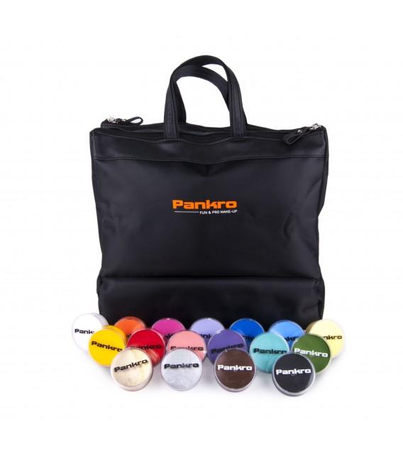 Kit 17 Aqua paint + bolso de maquillaje