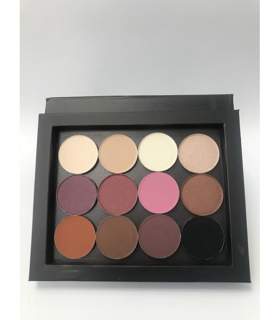 Eye Shadow Palette 12 colors- WARM