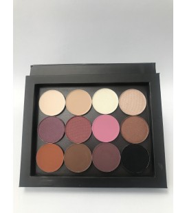 WARM Eye Shadow Palette 12 colors