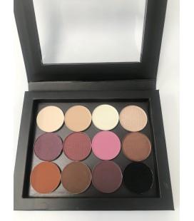 WARM Eye Shadow Palette 12 colors