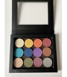 SATINY Eye Shadow Palette 12 colors
