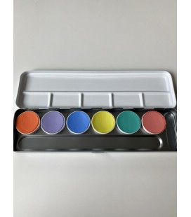 Paleta Pastel Aqua paint 6 tonos